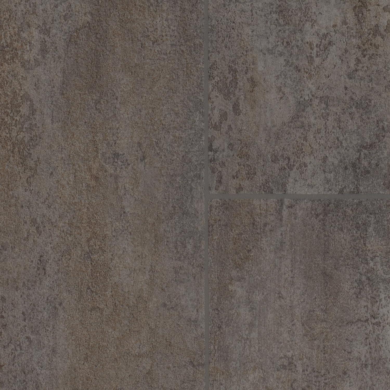 Meterware Variante: 5 x 4m 300 und 400 cm Breite Vinylboden PVC Bodenbelag 200 Fliesenoptik grau
