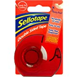Sellotape - Dispensador de cinta adhesiva de doble cara (15 mm x 5 m)