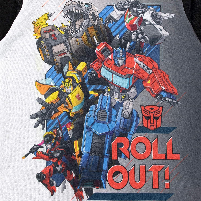 Transformers Pigiama a Maniche Lunghe per Ragazzi Autobots