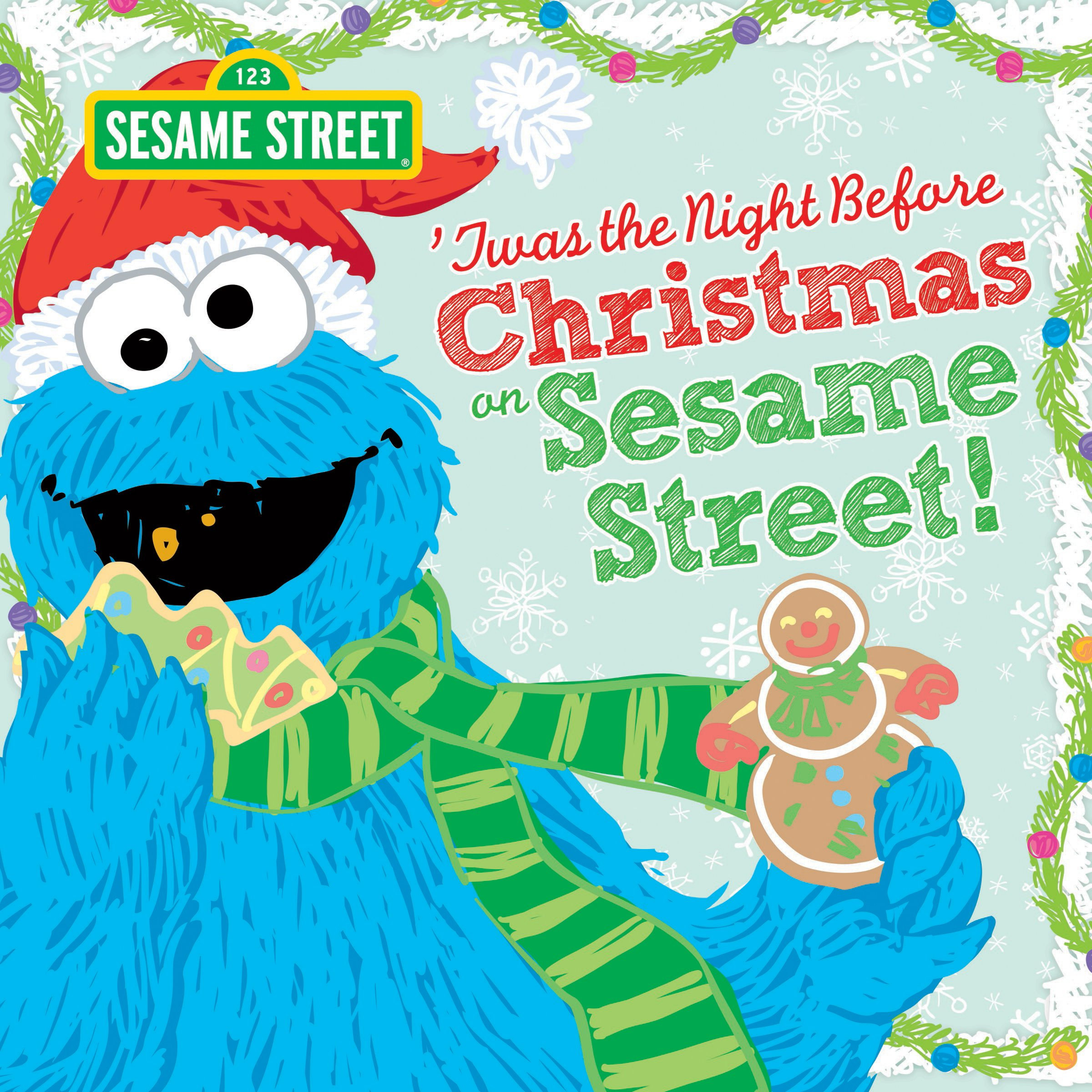 twas the night before christmas on sesame street sesame street scribbles cookie monster sesame workshop 0760789246265 amazoncom books