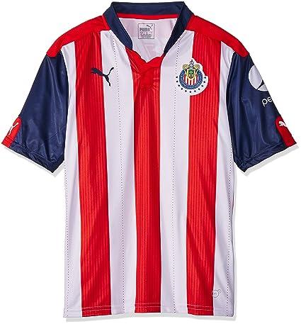 Puma Jersey para Hombre Chivas de Guadalajara  Amazon.com.mx  Deportes y  Aire Libre 3e0488b56bdab
