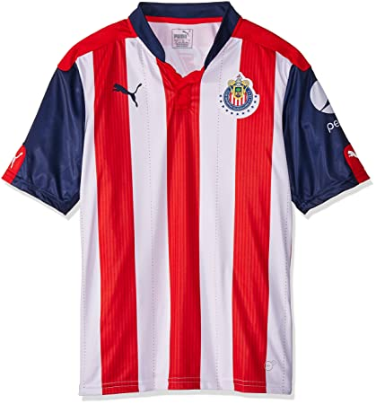 Puma Jersey para Hombre Chivas de Guadalajara  Amazon.com.mx ... 8ee4013babc1f