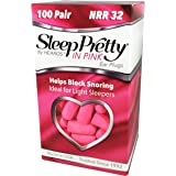 HEAROS Sleep Pretty in Pink Ear Plugs, With The Highest Snoring & Noise Canceling Rating NRR 32, Making This Pink Ear Plugs For Sleeping The Best Gift