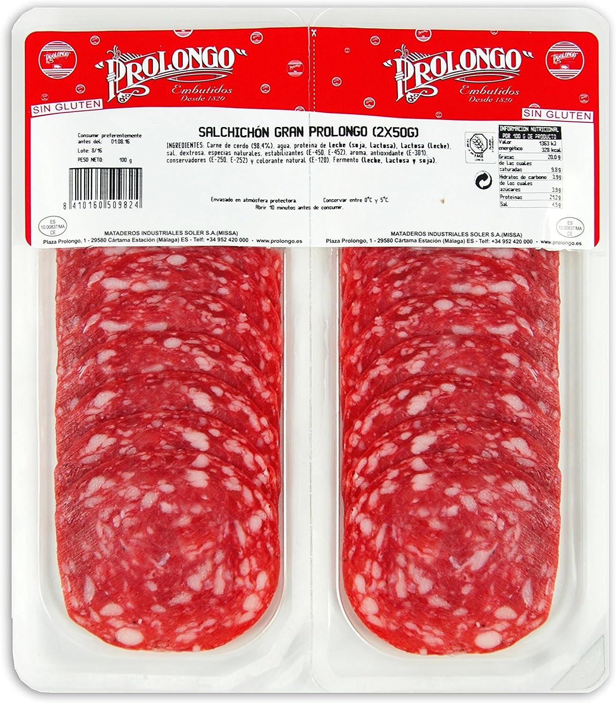 SOBRE SALCHICHÓN GRAN PROLONGO 2X50 gr BIPACK