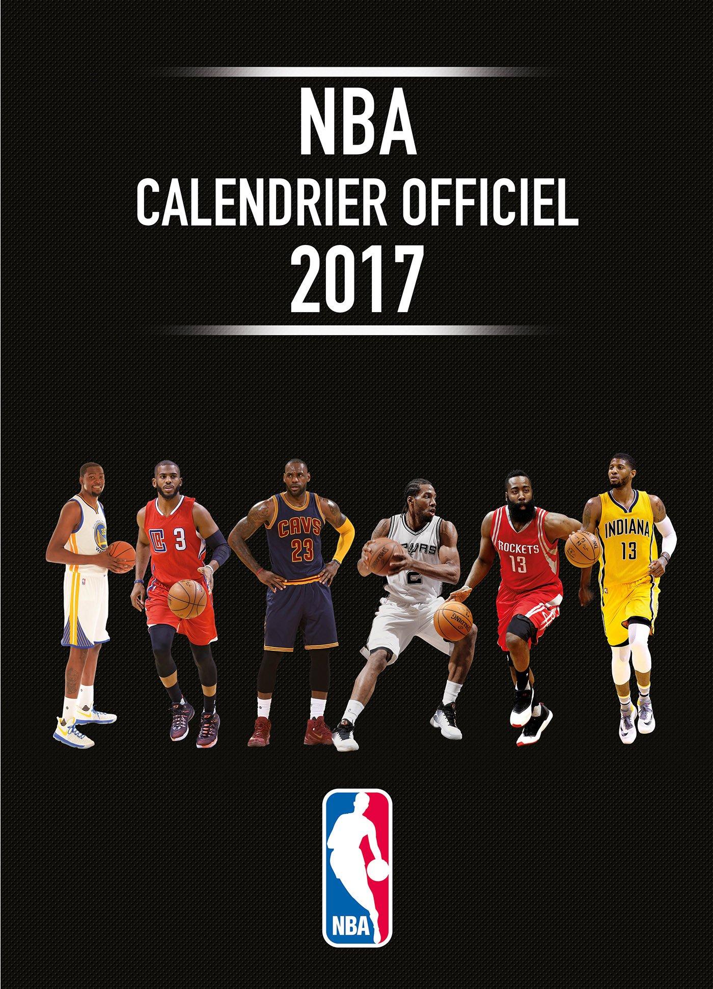 NBA - Calendrier officiel 2017 (TED.TALENT SPOR): Amazon.es: NBA ...