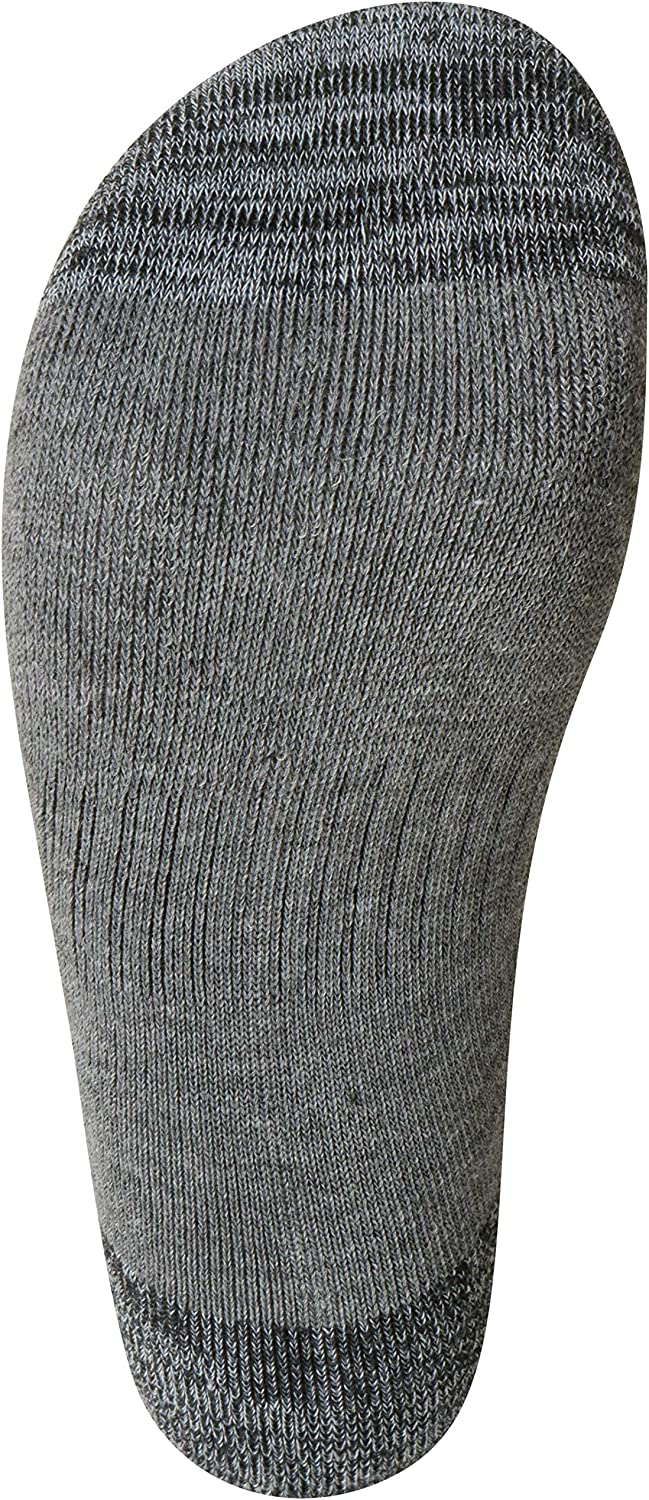 Reebok Boys Cushion Comfort Low Cut Basic Socks 6 Pack