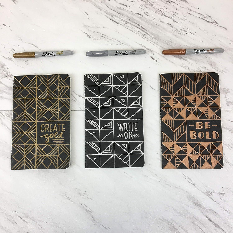 52a7540c9b1c Sharpie Fine Point Metallic Permanent Markers - Assorted Metallic Colours