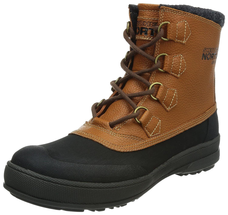 Skechers Alamar Terence - Botas De Nieve de cuero hombre: Amazon.es: Zapatos y complementos