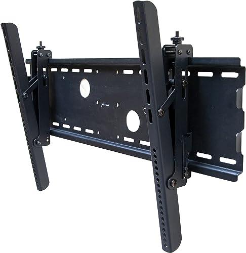 Black Adjustable Tilt Tilting Wall Mount Bracket for Panasonic 50 inch HDTV Plasma LCD TV
