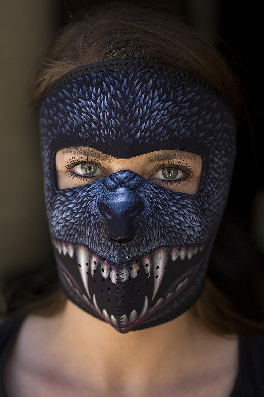 Zanheadgear Neoprene Full Face Mask Gas Mask