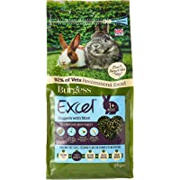 Burgess Excel Nuggets with Mint Junior and Dwarf Rabbit Food, 2 kg