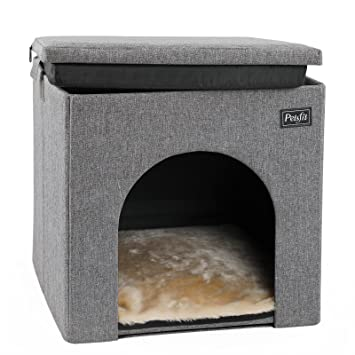 Remarkable Petsfit Dog House Chair For Indoor Use Collapsible Washable Pet House For Cat And Puppy Inzonedesignstudio Interior Chair Design Inzonedesignstudiocom