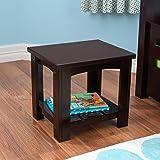 KidKraft Addison Toddler Wood Side Table , Espresso