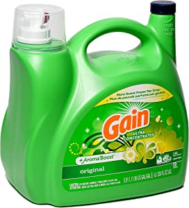 Ultra Concentrated & Aroma Boosted New Gain Original Liquid Laundry Detergent 5.91 L / 200 Fl. Oz - 146 Loads (2X Ultra Concentrated)