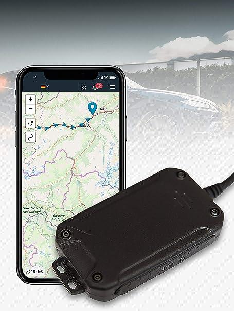 Salind Gps Tracker Auto Motorrad Und Fahrzeuge Mit Sim Karte Kostenlose App Für Android Und Iphone Live Ortung In Echtzeit Mini Mit Internem Akku Navigation