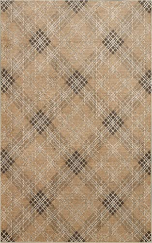Mohawk Home Russell Plaid Natural Area Rug, 8 x10 ,