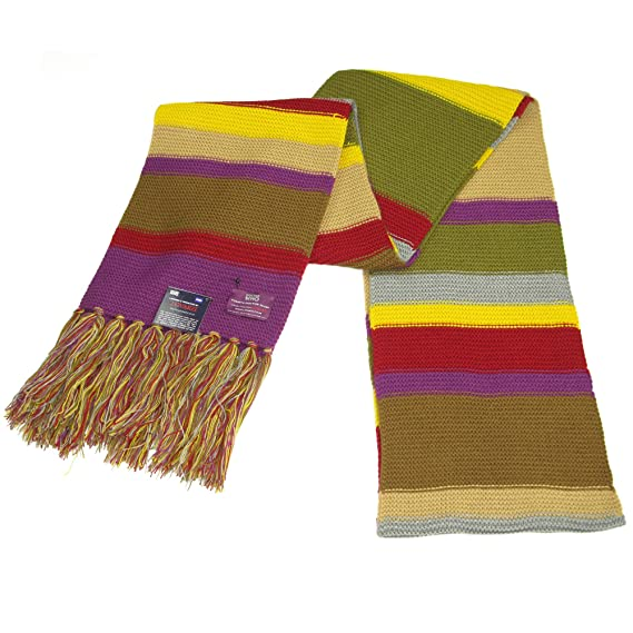 Doctor Who Scarf Official Bbc Doctor Who Scarf Fourth Doctor