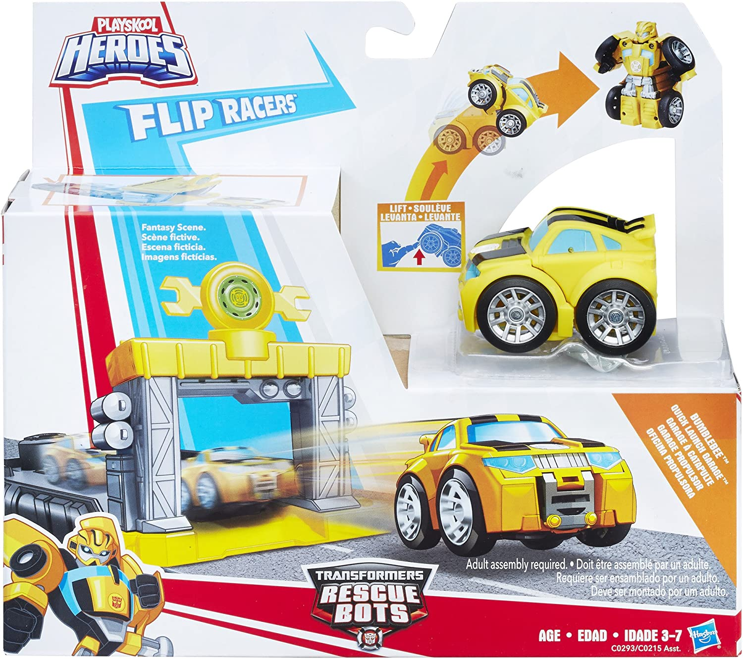 BOULDER OPTIMUS SALVAGE TRANSFORMERS BOT RESCUE F1 HOT ROD BUMBLEBEE