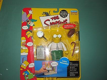 Amazon Com The Simpsons Series 7 Action Figure Hans Moleman Toys