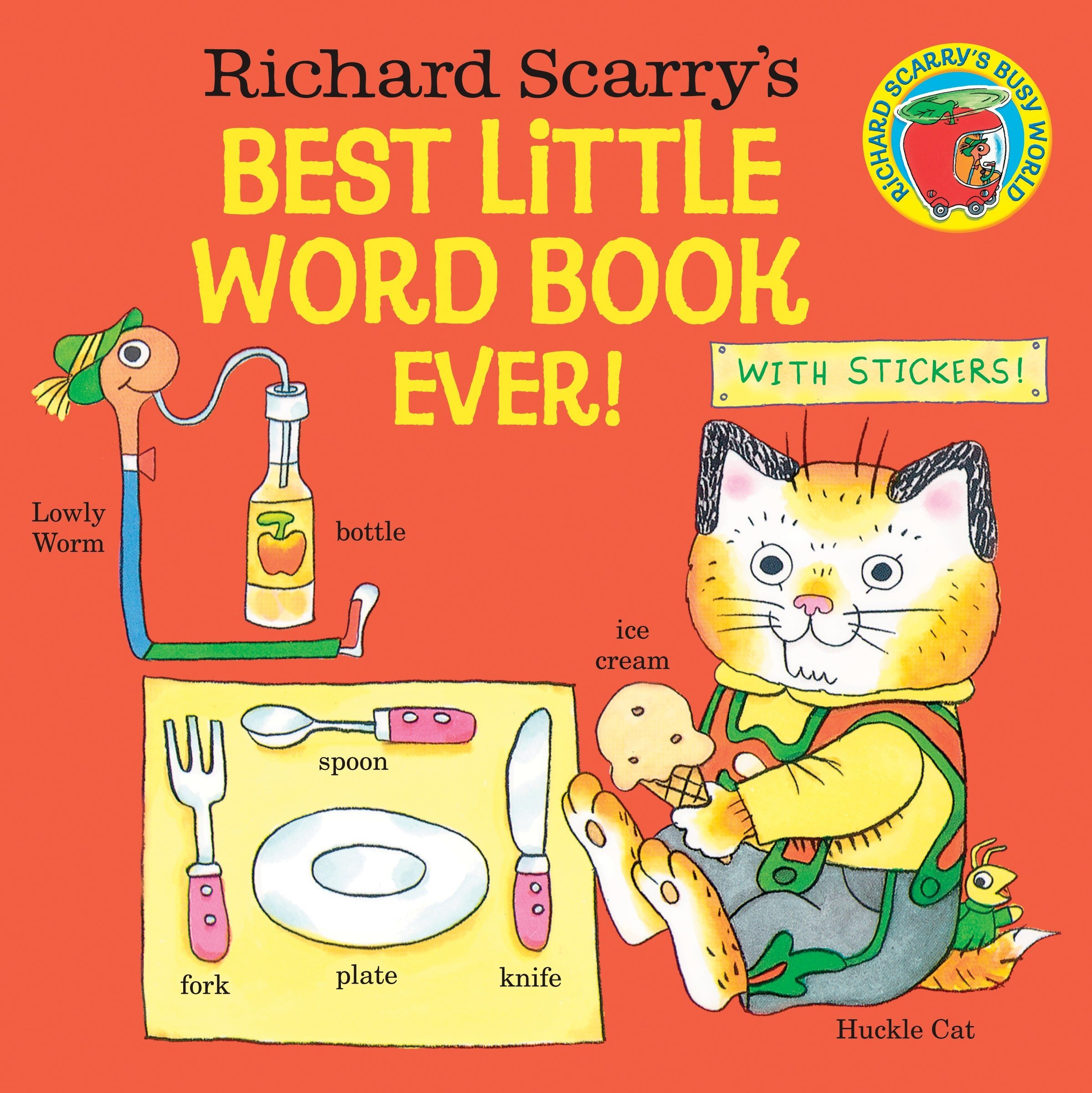 Richard Scarry's Best Little Word Book Ever! (Pictureback(R))