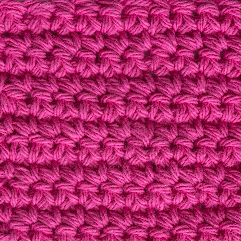 4 Lily Sugar N Cream  The Original Solid Yarn - White 2.5 oz Machine Wash /& Dry Medium Gauge 100/% Cotton