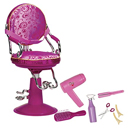 Our Generation Salon Chair (Hot Pink)  sc 1 st  Amazon.com & Amazon.com: Our Generation Salon Chair (Hot Pink): Toys u0026 Games