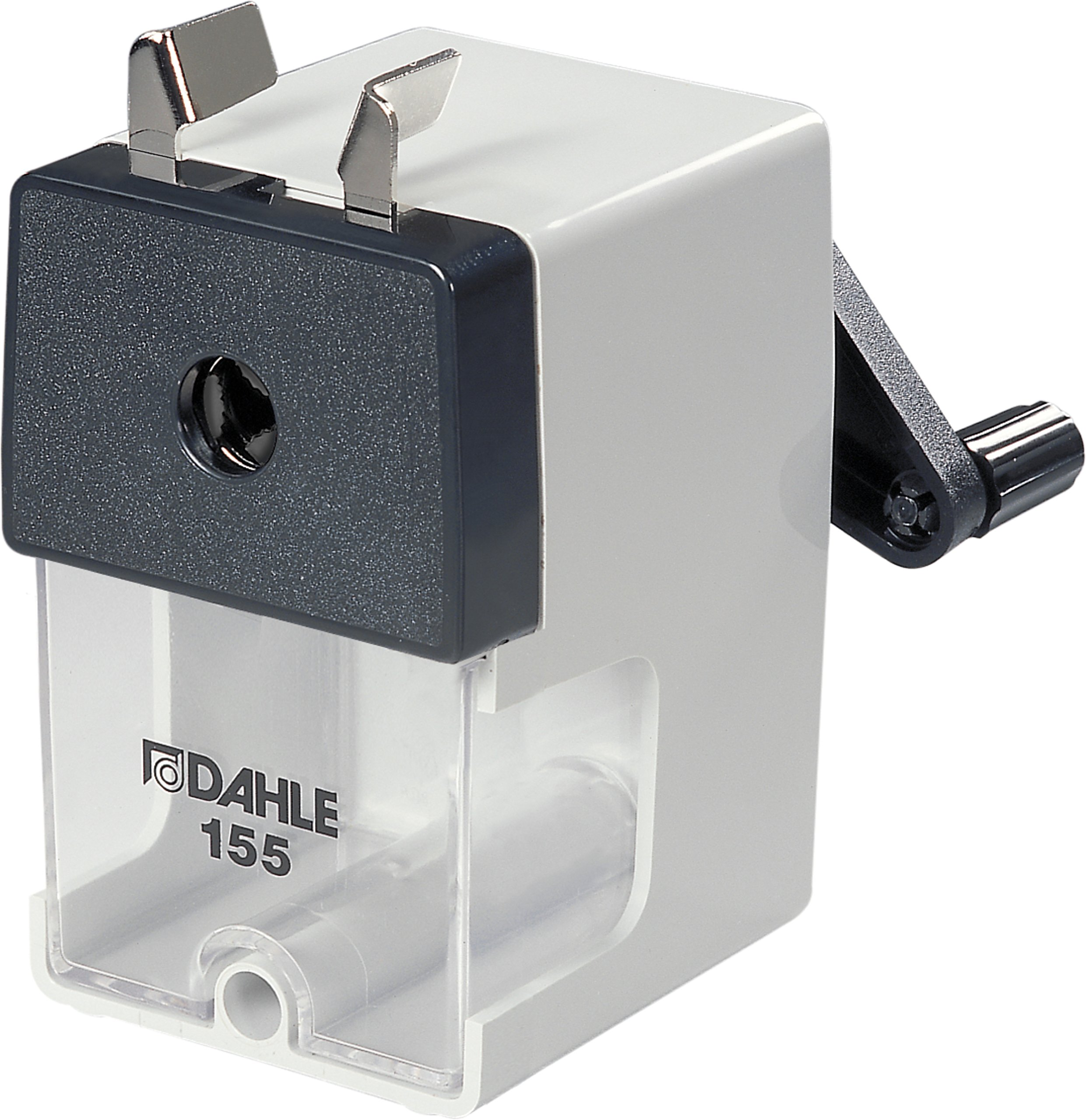 Dahle 155 Professional Pencil Sharpener w/Point Adjuster & Automatic Cutting System, Accepts Graphite & Oversized Artist Pencils