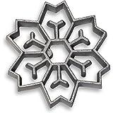 Honey-Can-Do 7130 2-In-1 Snowflake Rosette Iron