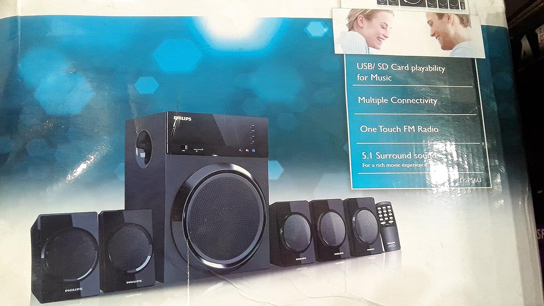 Philips IN-DSP56U/00 5.1 Multimedia Speaker Price: Buy Philips IN ...
