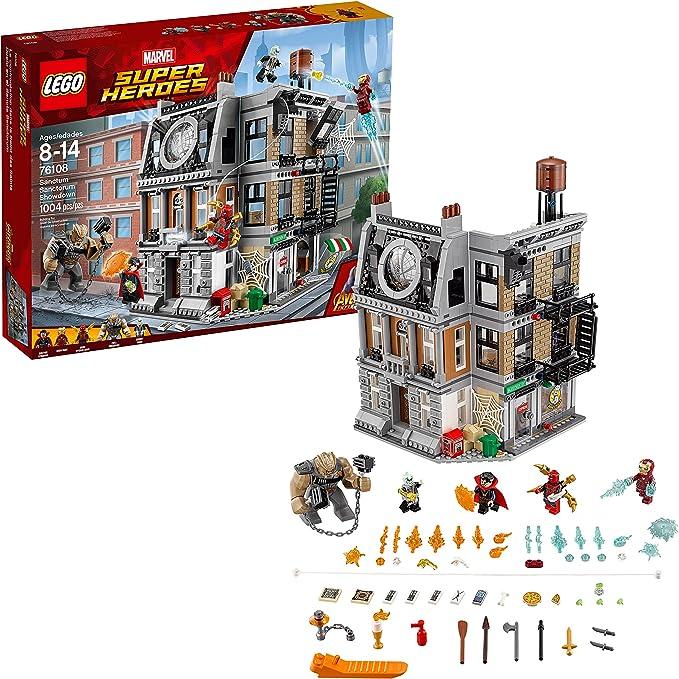 Avengers Infinity War Sanctum Sanctorum Showdown Iron Building Block Toy Boy *