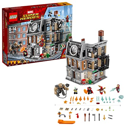 pretty nice d9d91 53e30 Amazon.com  LEGO Marvel Super Heroes Avengers  Infinity War Sanctum  Sanctorum Showdown 76108 Building Kit (1004 Piece)  Toys   Games