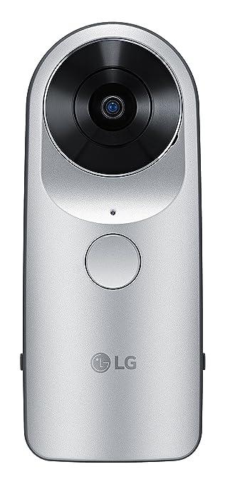 82 opinioni per LG 360 CAM Videocamera Sferica Compatta con Doppia Fotocamera da 13 MP, Memoria