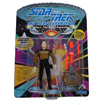 Lt Commander Data Star Trek TNG Action Figure: Toys & Games