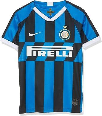 NIKE Inter Y Nk BRT Stad JSY SS Hm - Camiseta 1ª equipación Atlético de Madrid 17-18 Unisex niños: Amazon.es: Ropa y accesorios