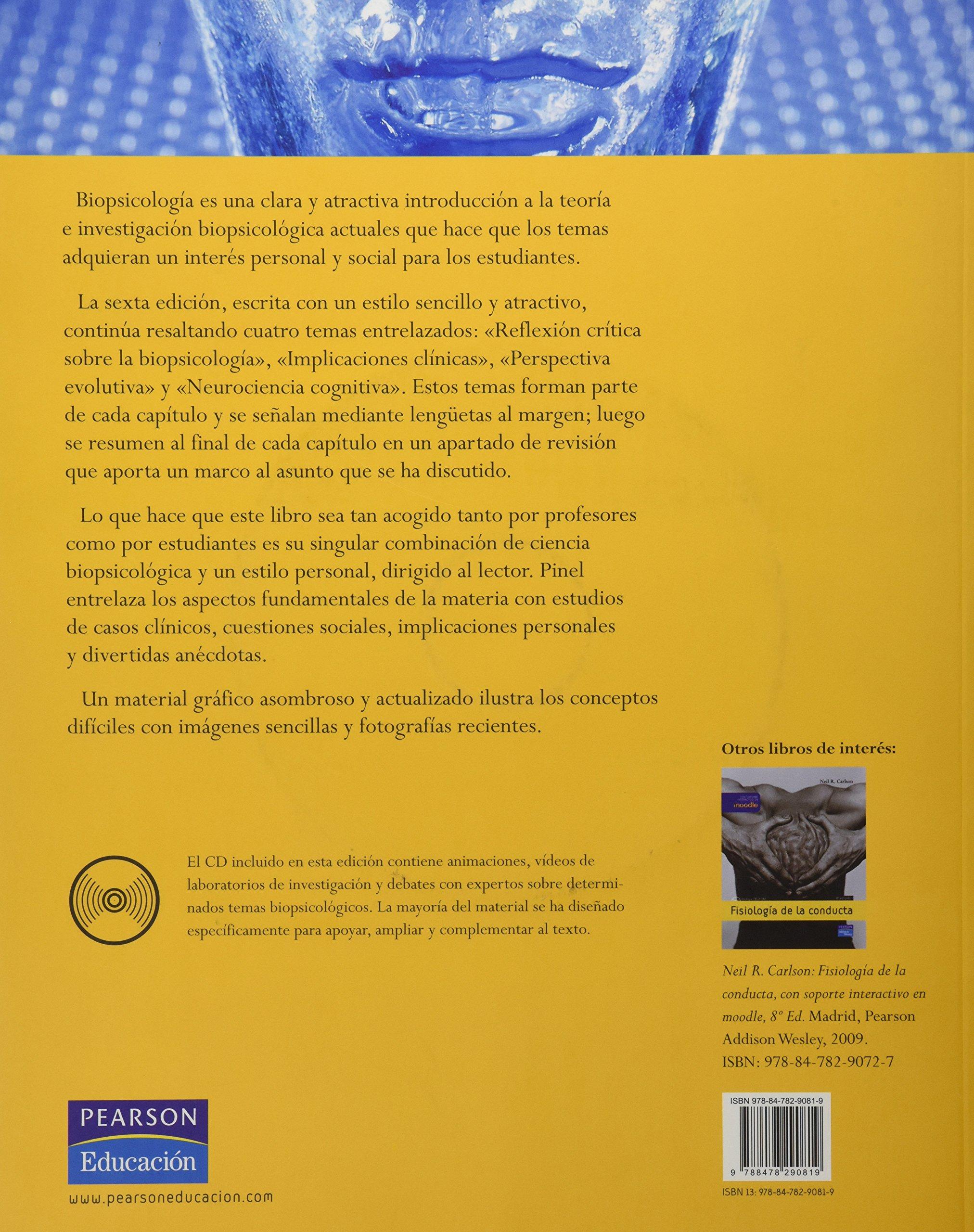 LIBRO BIOPSICOLOGIA PINEL DOWNLOAD