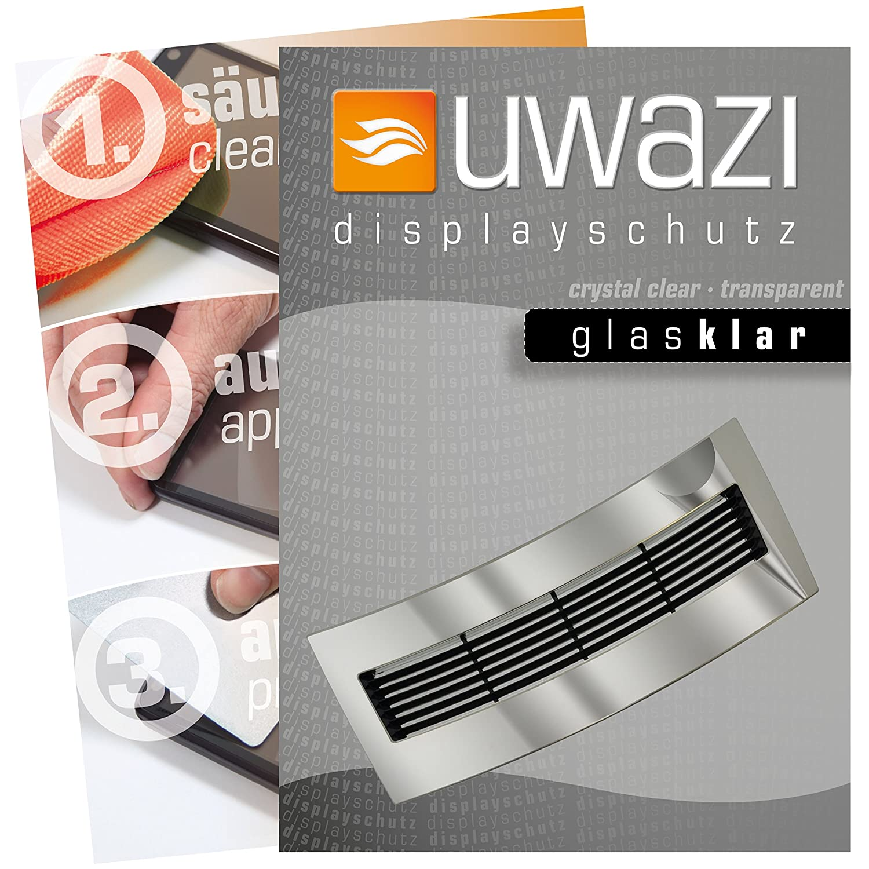 uwazi I 3x Láminas Protectoras tranparente para la Pantalla del ...