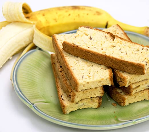 Irene S Bakery All Natural Fat Free Banana Bread Biscotti