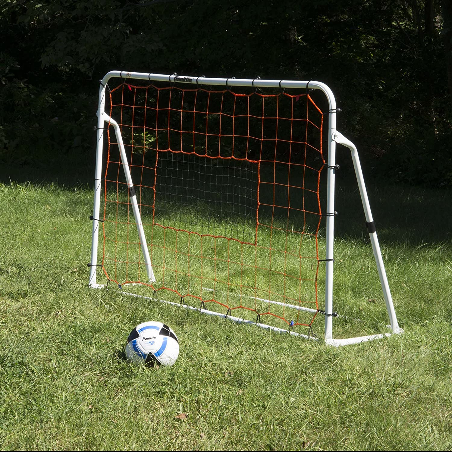 amazon com franklin sports adjustable soccer rebounder 6 feet