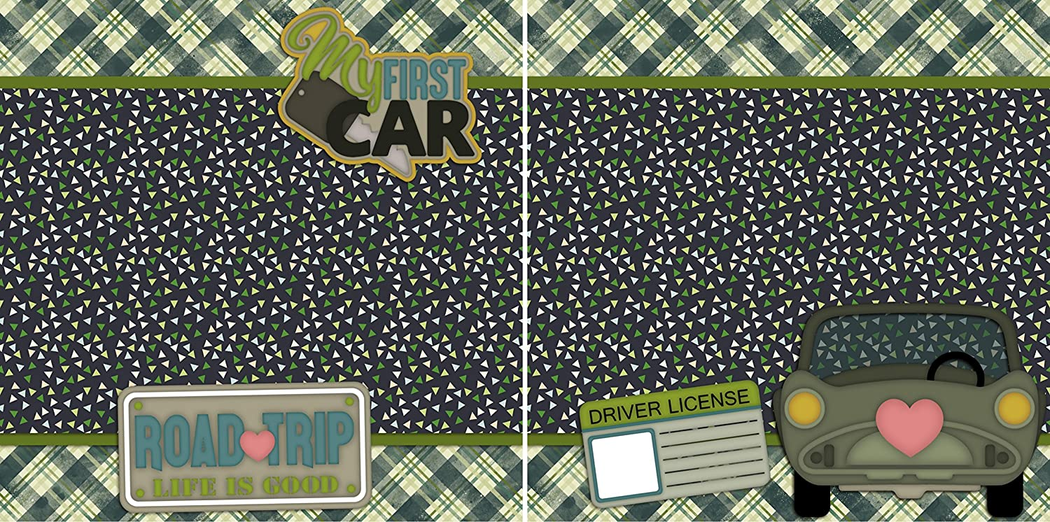 Premade Scrapbook Pages EZ Layout 532 My First Car NPM
