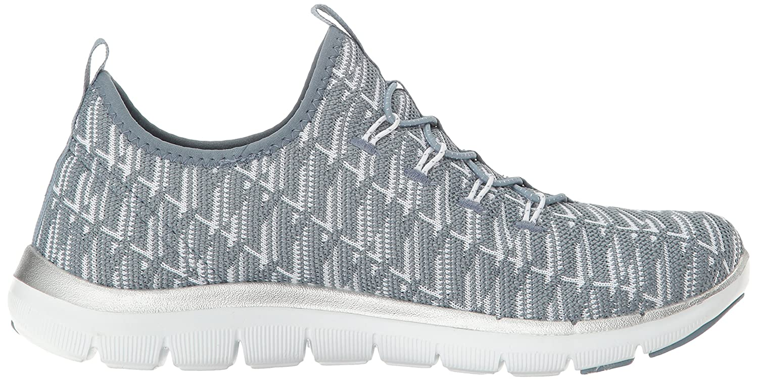 Amazon.com | Skechers Sport Women's Flex Appeal 2.0 Insight Sneaker, Slate, 5.5  M US | Fashion Sneakers