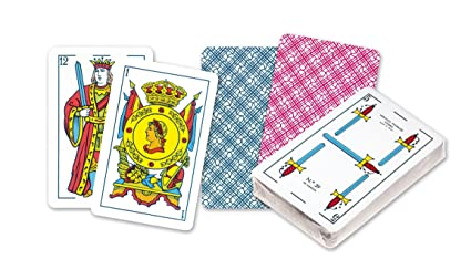Amazon.com: Fournier – Baraja Spanish Titi, 40 Cards, Multi ...