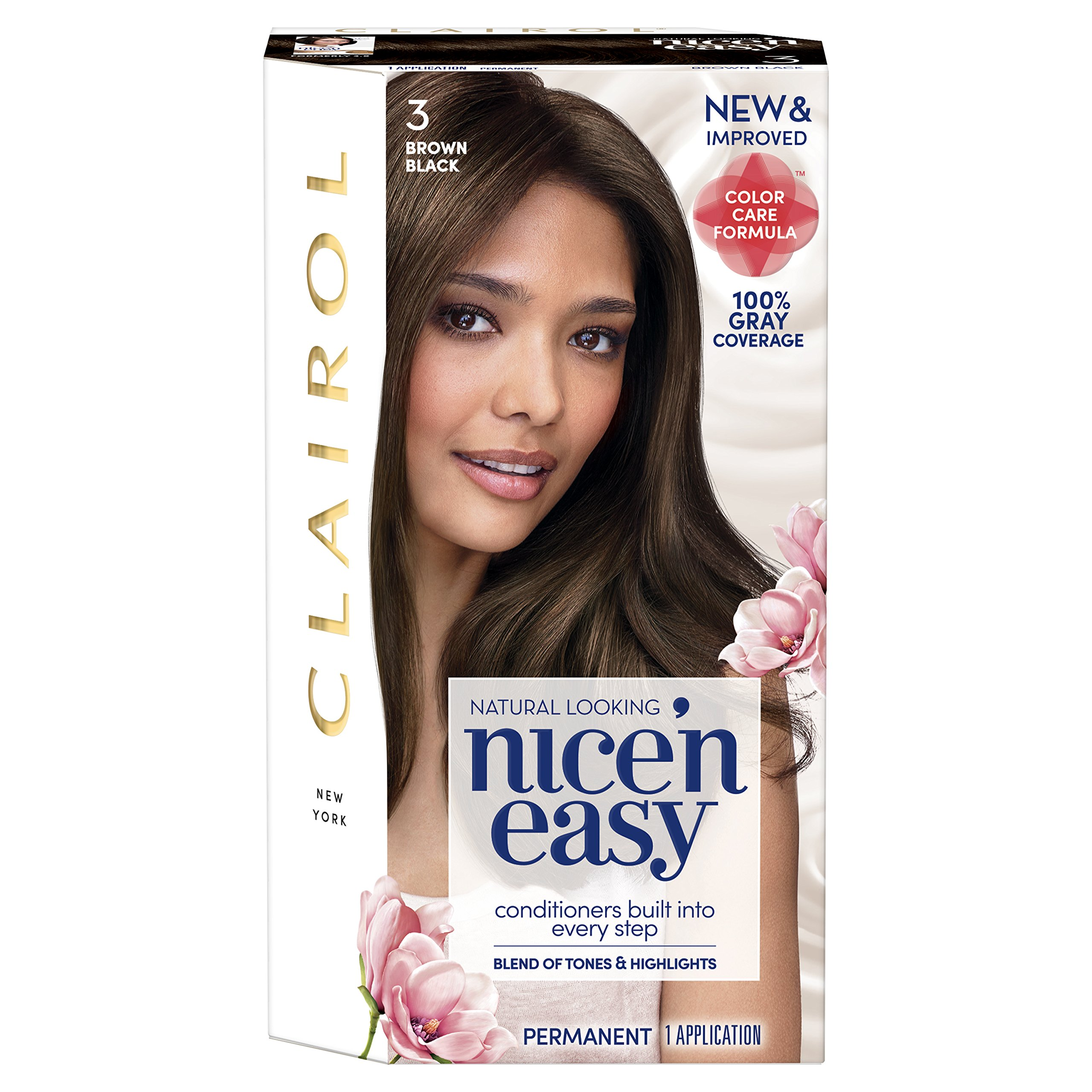Amazon Clairol Nice N Easy Hair Color 121a3 Brown Black 1 Kit