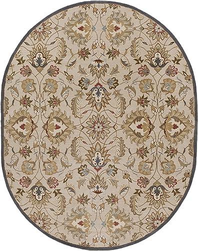 Surya Caesar CAE-1118 Hand Tufted Wool Classic Area Rug, 8-Feet by 10-Feet