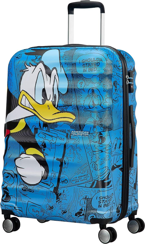 American Tourister Disney Wavebreaker - Maleta Infantil, Spinner M (67 cm - 64 L), Multicolor (Donald Duck)