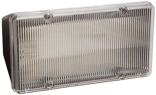RAB Lighting PLF13 CFL PLF Fluorescent Floodlight, 13W Twin Type, Polycarbonate, 13W Power, 900 Lumens, 208V, Bronze Color