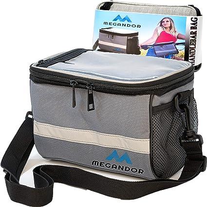 Details about  /Bicycle Handlebar Bag Waterproof Wear-resisting Oxford Cloth Storage Bag 3 Color