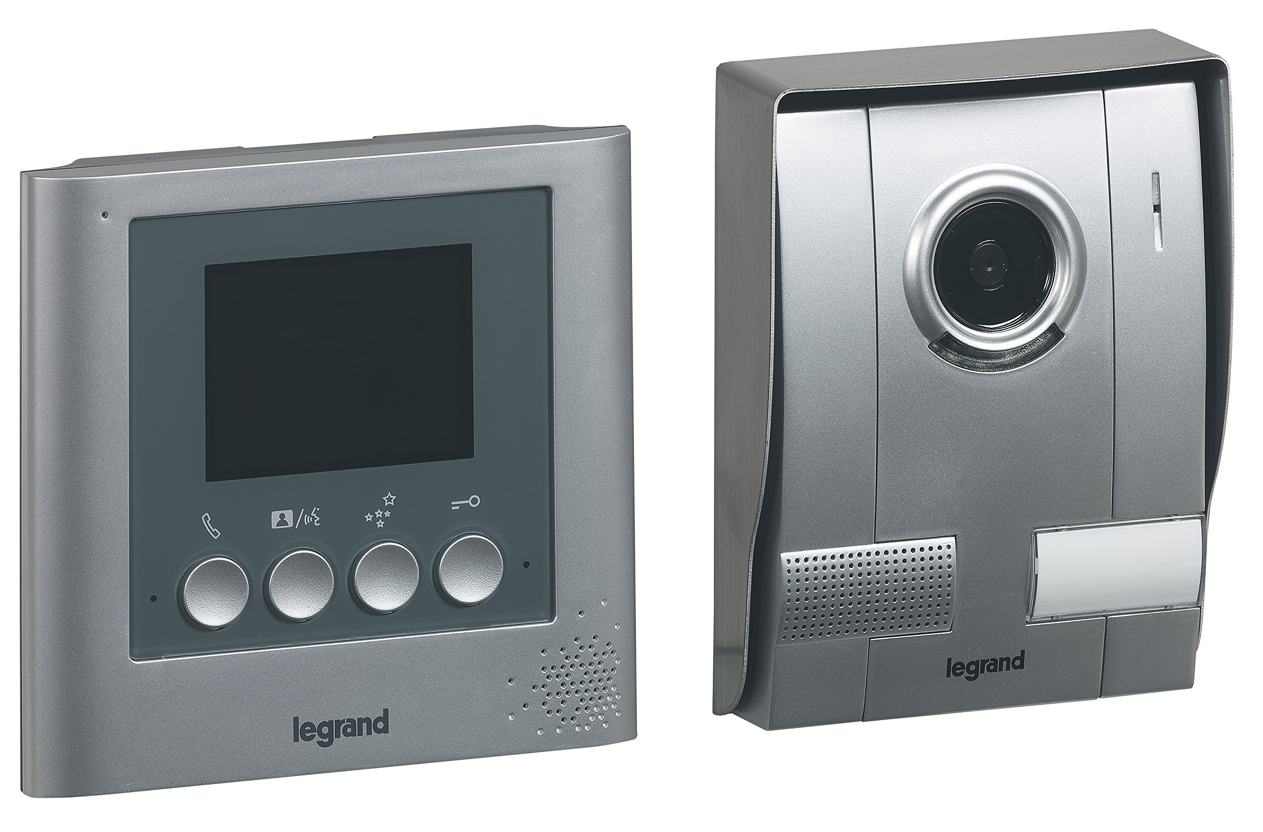 Legrand LEG369100 Kit Portier Vidéo 3,5 Pouces Câble 1,80 M Gris product image