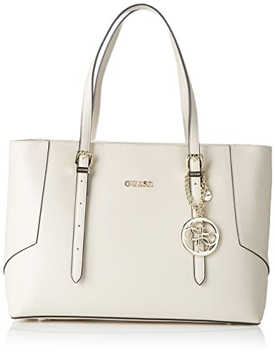 Guess Isabeau Carryall Off White in bianco | fashionette
