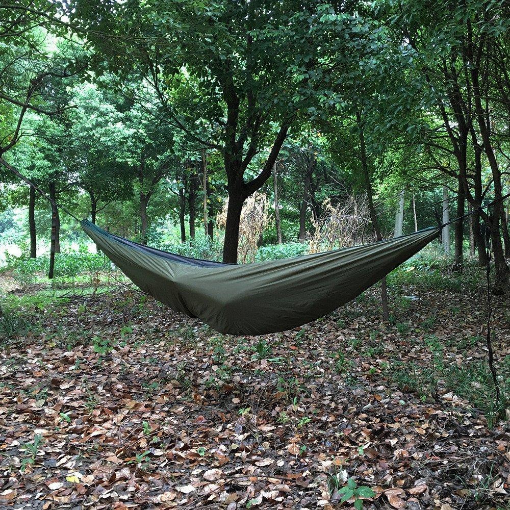 RFVBNM Outdoor-Camping Hängematte Thermohaube Winddicht Hängematte thermische Hängematte Freizeit Hängematte Zubehör Baumwolle Hängematte 230  110cmcj