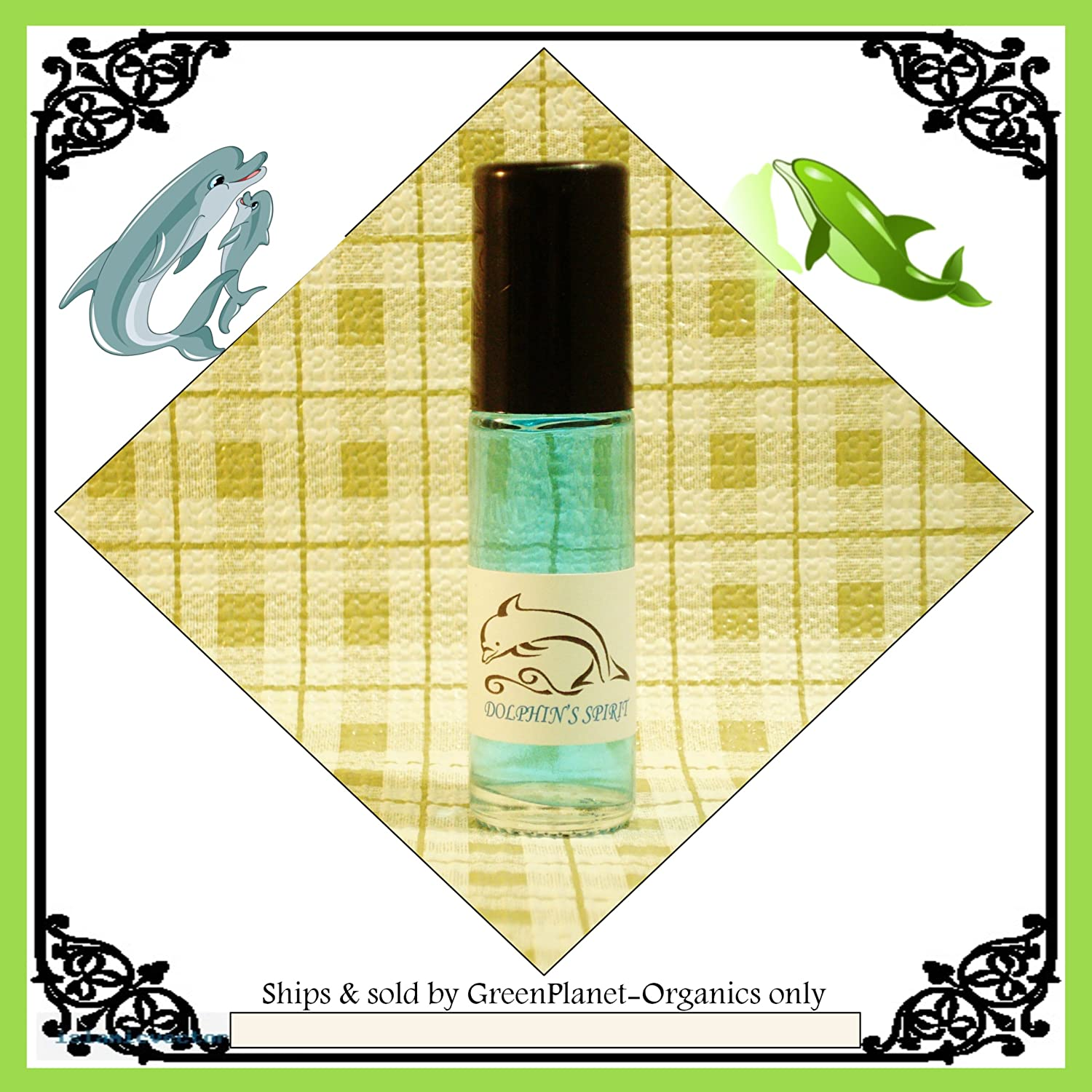 Dolphin's Spirit Fragrance Oil (Represents Freedom, Loyalty & Compassion)